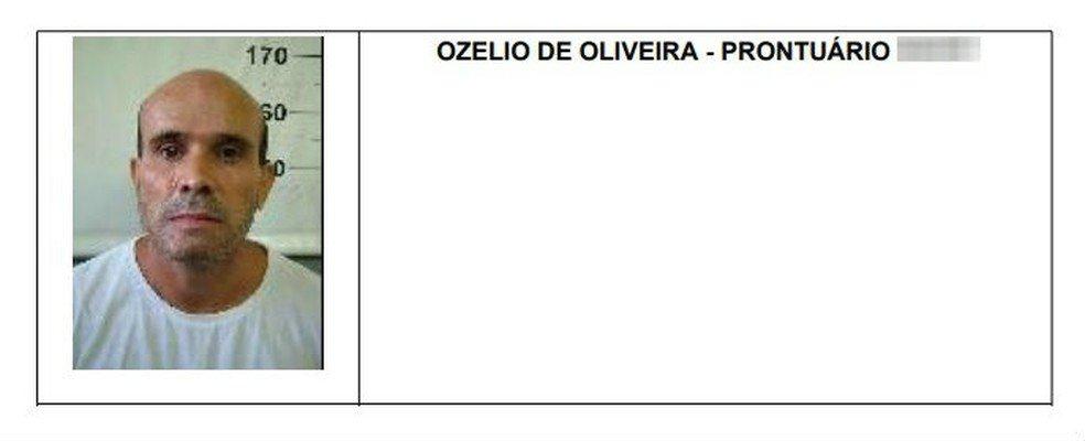 Ozélio de Oliveira foi morto em confronto com policiais (Foto: Reprodução)