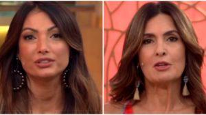 Patricia Poeta e Fátima Bernardes na Globo - Foto: Reprodução