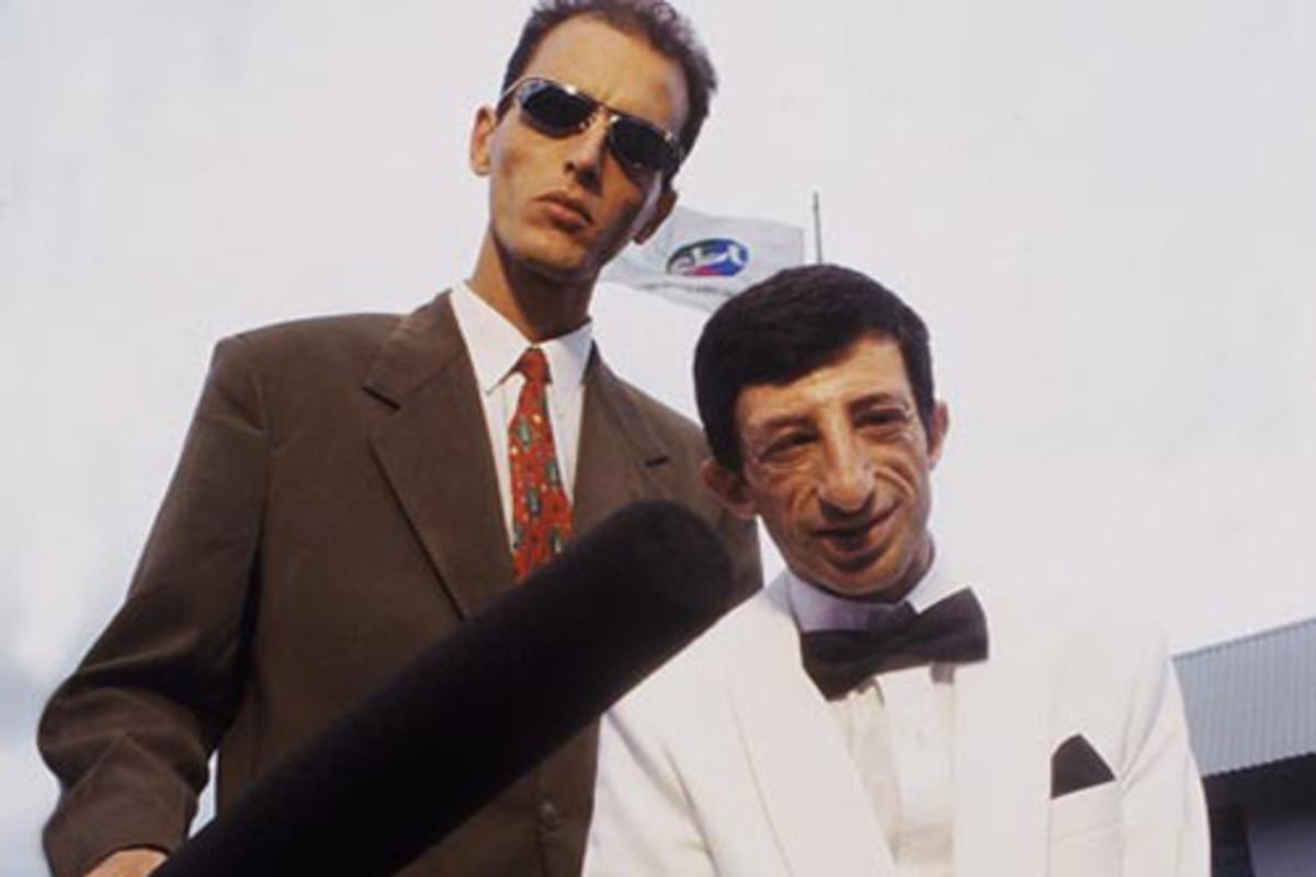 Rodolfo e E.T (Foto: Reprodução)