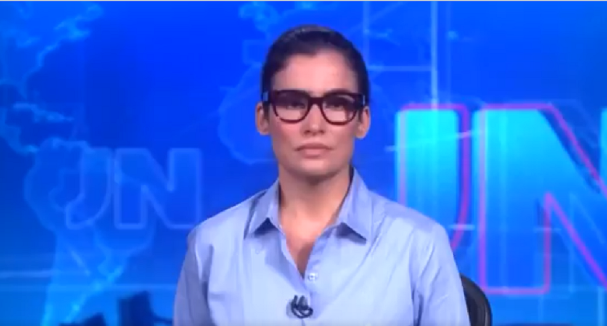 Renata Vasconcellos na Globo (Foto: Reprodução)