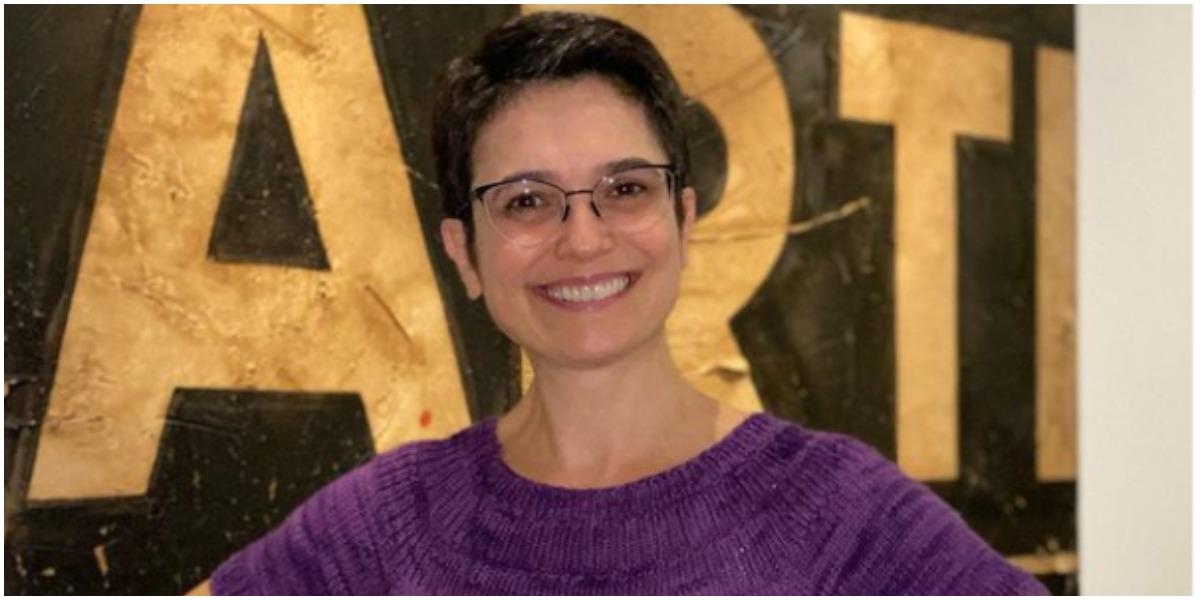 Sandra Annenberg expôs novo projeto e comemorou que chegou ao fim (Foto: Reprodução)