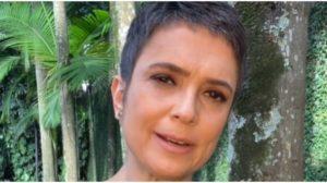 Sandra Annenberg expõe que deixou a Globo por uns dias para descansar nas montanhas (Foto: Reprodução)