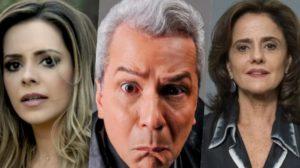 Sandy, Sikêra Jr. e Marieta Severo são destaques no TV Foco (Foto reprodução)