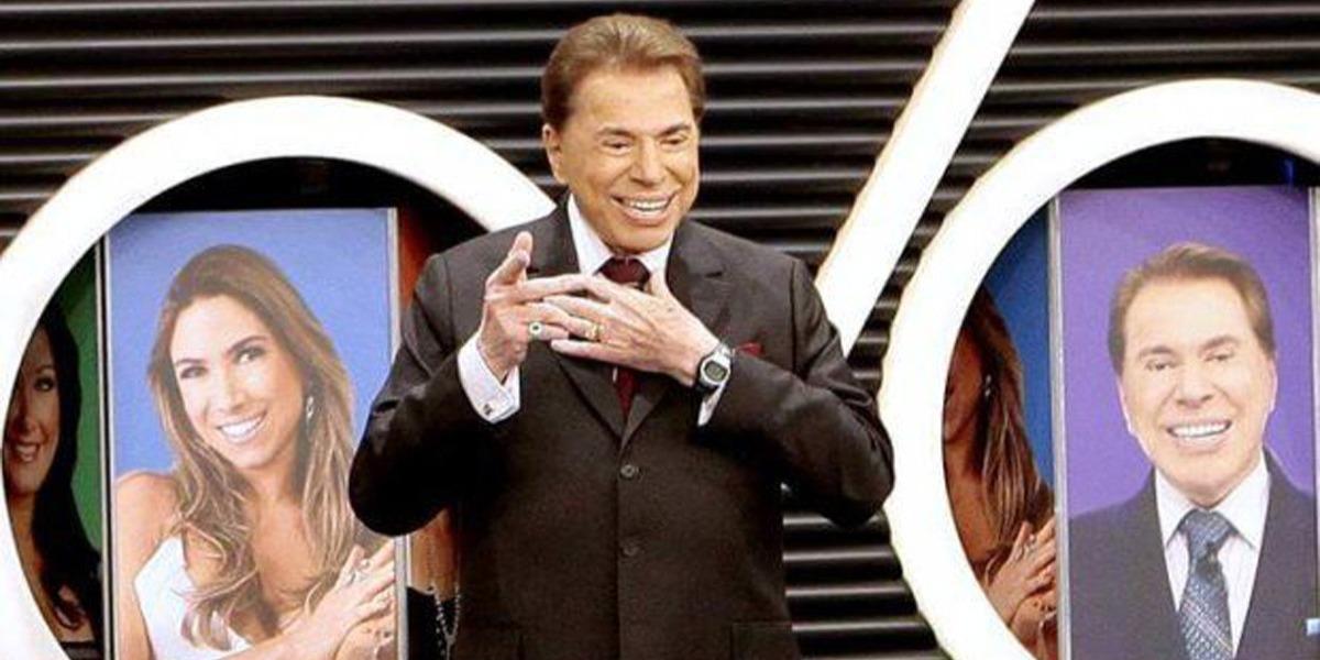 Silvio Santos presenteou funcionária (Foto: Divulgação/SBT)