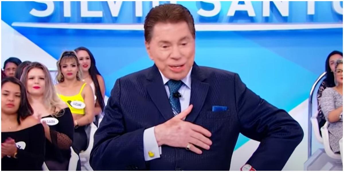 O apresentador do SBT, Silvio Santos - Foto: Reprodução