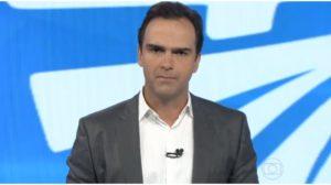 Tadeu Schmidt é quem comanda o Fantástico na Globo - Foto: Reprodução