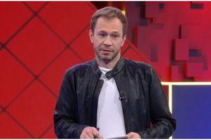 Tiago Leifert entrou no Fantástico ao vivo - Foto: Reprodução