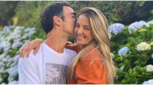 Ticiane Pinheiro usou as redes sociais para expor uma foto e levantou suspeitas sobre gravidez (Foto: Reprodução)