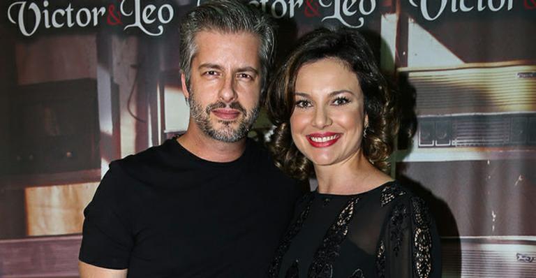 Victor Chaves e Poliana Bagatini (Foto: Reprodução)