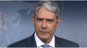 William Bonner no comando do Jornal Nacional - Foto: Rerodução