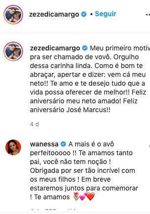 Resposta de Wanessa Camargo (Foto: Reprodução)