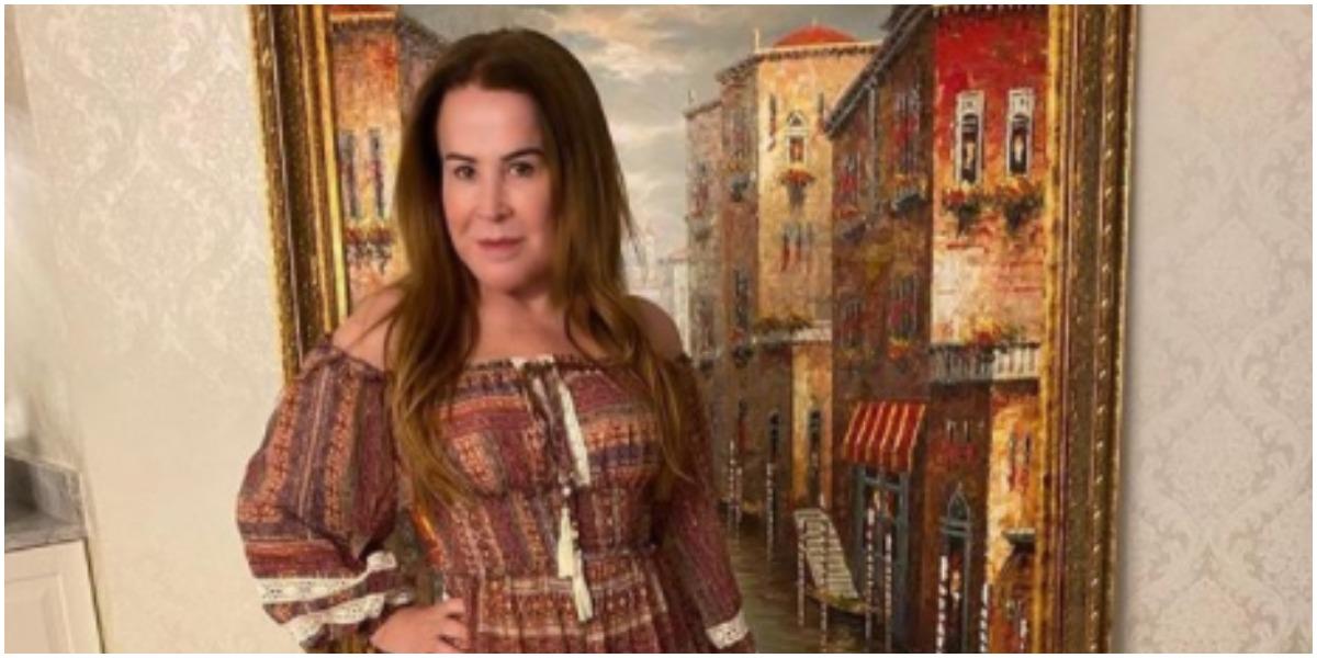 Zilu expõe homenagem para Wanessa Camargo em foto do passado (Foto: Reprodução)