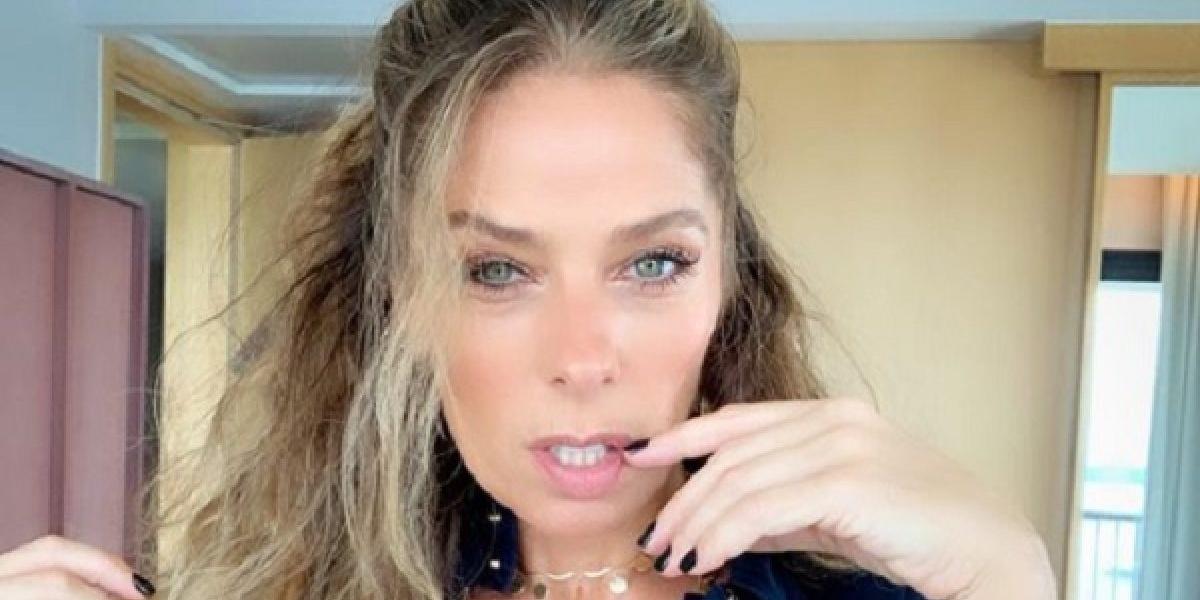 Adriane Galisteu é a nova contratada da Record TV (Foto: Reprodução)