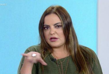 Fabiola Reipert voltou a incomodar a Globo com A Hora da Venenosa (Foto: Reprodução/Record)