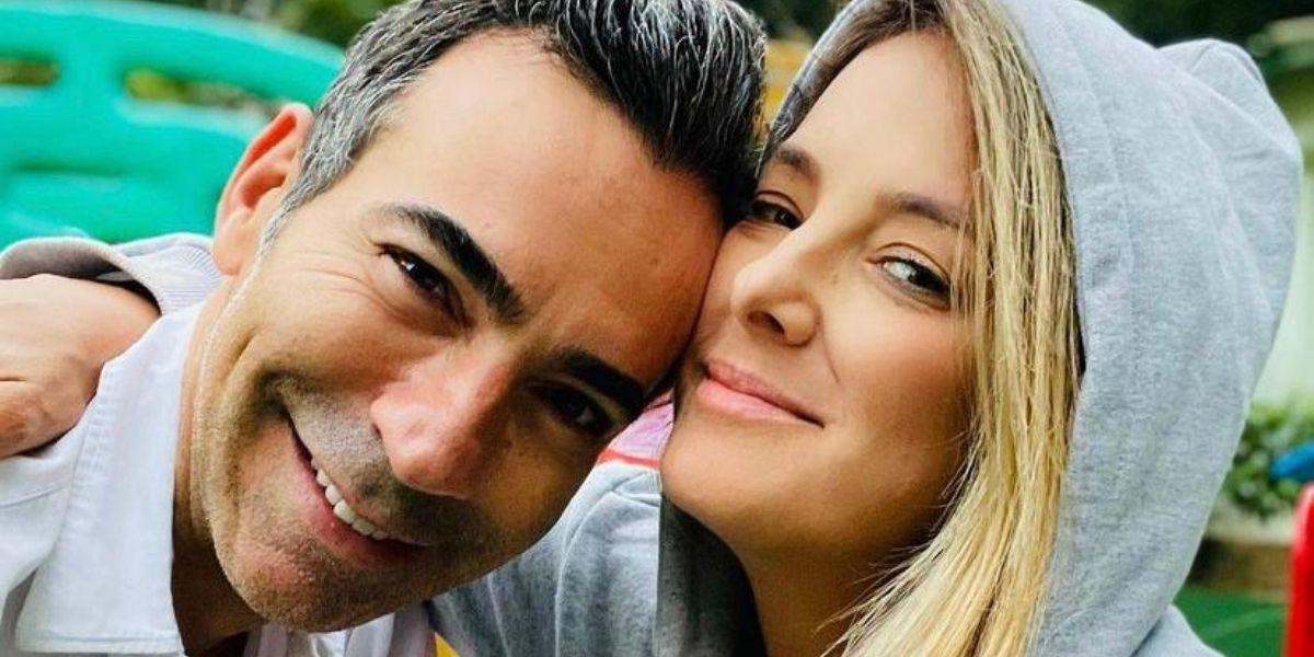 César Tralli e a esposa, Ticiane (Foto: Reprodução / Instagram)