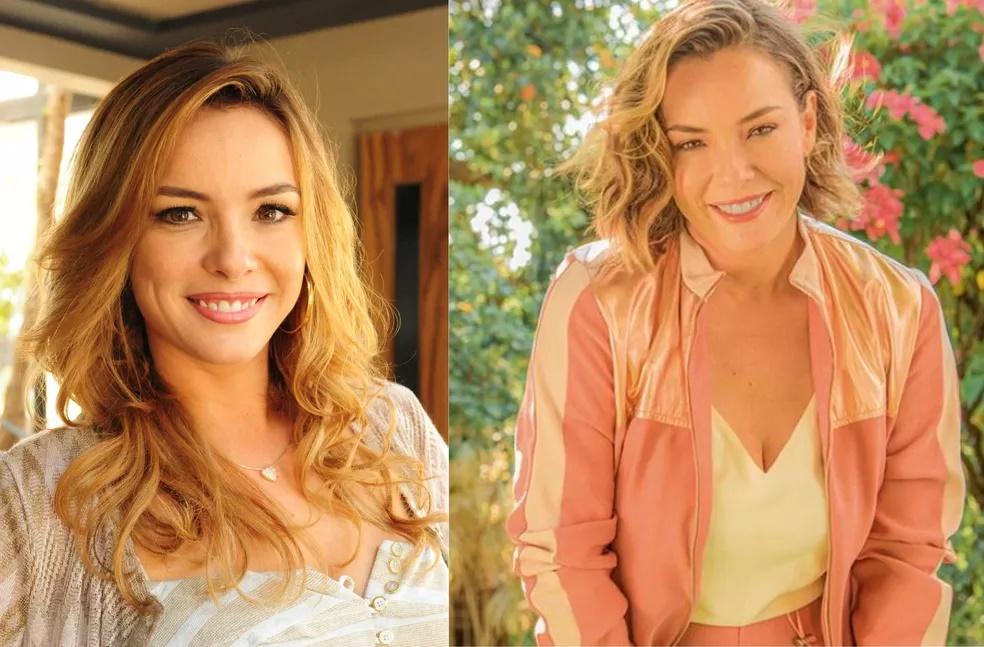 Antes e depois dos atores de A Vida da Gente (Foto: Montagem)