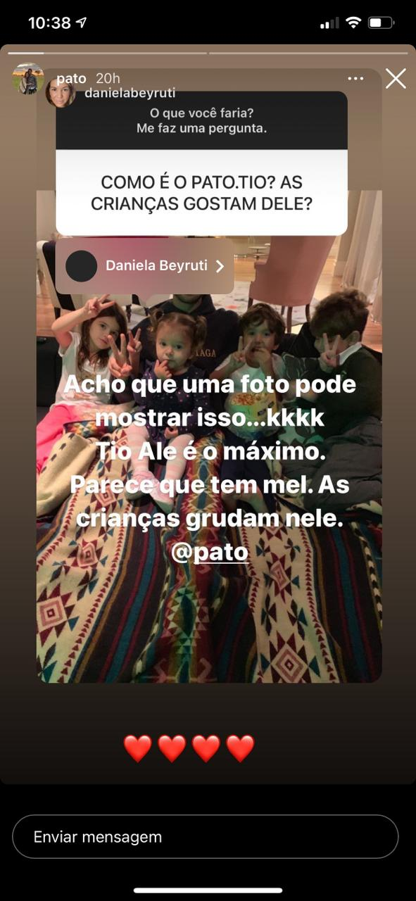 Pato é exposto por família de Rebeca Abravanel mas redes sociais (Reprodução)