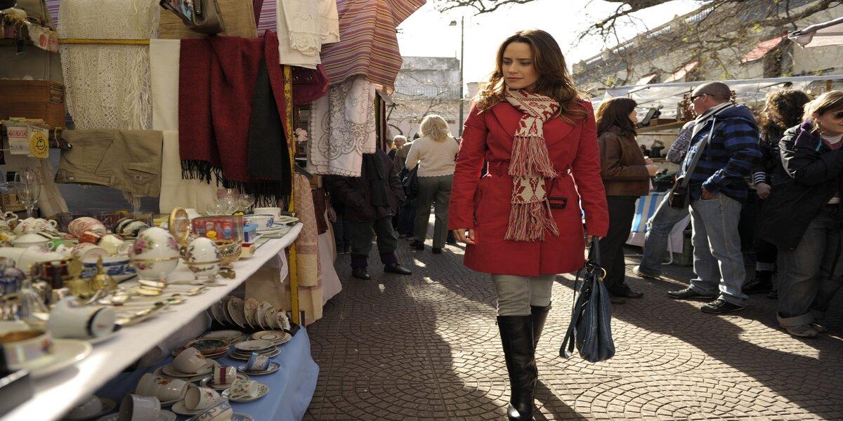 Ana (Fernanda Vasconcellos) em Buenos Aires em A Vida da Gente