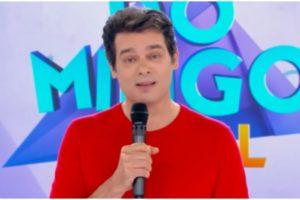 Celso Portiolli usou as redes sociais para parabenizar Ratinho (Foto: Reprodução)