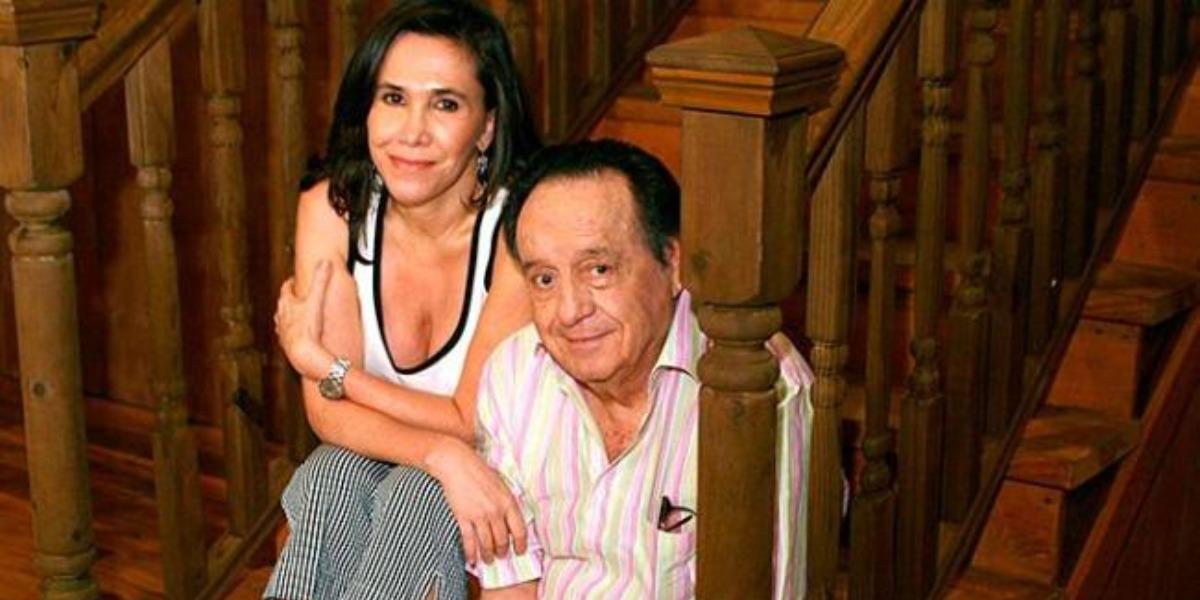 Florinda Meza e Roberto Bolaños (Foto: Divulgação)
