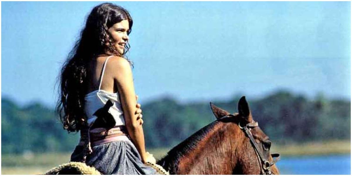 Juma em cena da novela Pantanal, que será refeita pela Globo - Foto: Reprodução