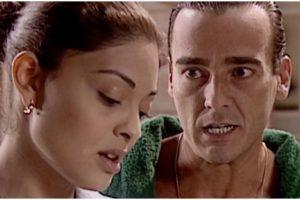 Ritinha e Danilo em cena da novela Laços de Família - Foto: Reprodução
