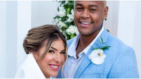 Léo Santana compartilhou com público momentos importantes de seu casamento