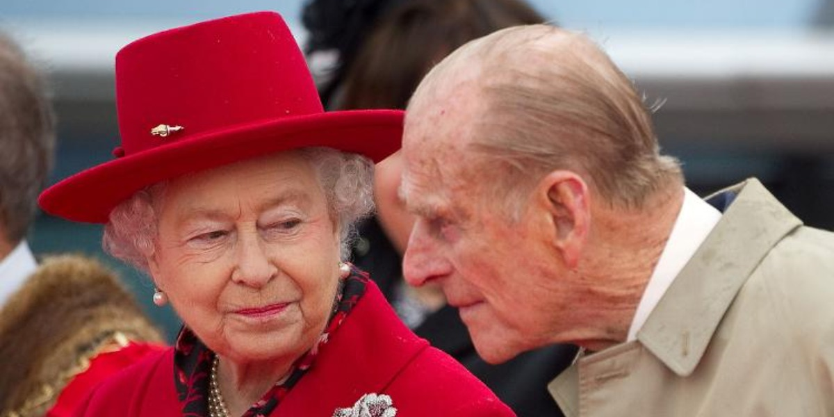 Príncipe Philip e Elizabeth II (foto: Reprodução)