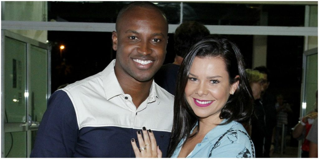 Thiaguinho e Fernanda Souza eram casados - Foto: Reprodução