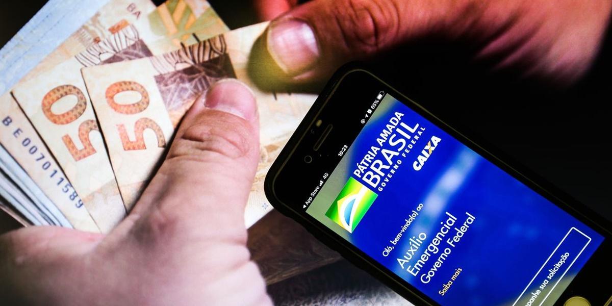 Nova rodada do Auxílio emergencial começou a ser paga no dia 6 de abril (Foto: Reprodução)
