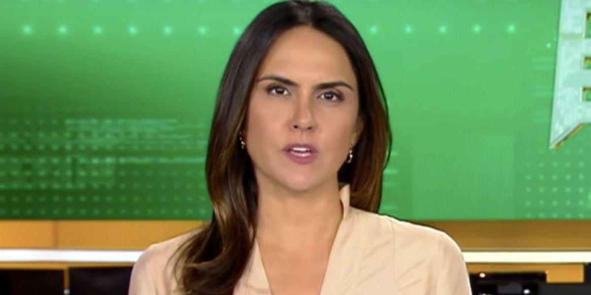 Carla Cecato, jornalista da Record (Foto: Reprodução)