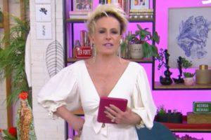 Ana Maria Braga no Mais Você (Foto: Reprodução/Globo)