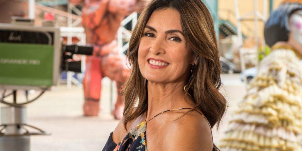 Fátima Bernardes (Foto: Reprodução)/ Ana Maria
