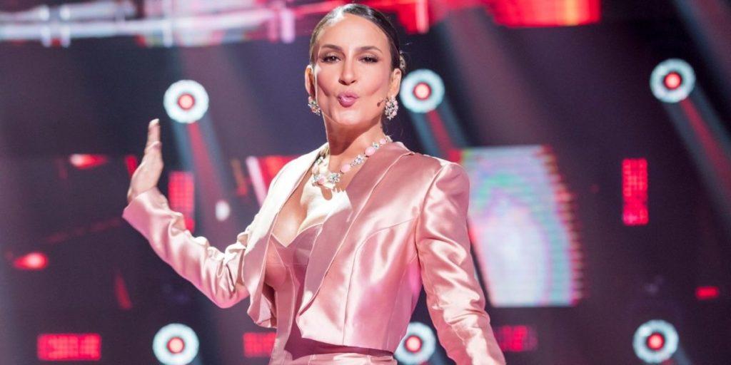 Cláudia Leitte esbanja boa forma aos 40 anos (Foto: Reprodução / Globo)