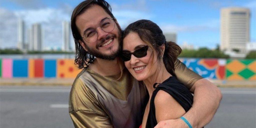 Túlio Gadêlha e Fátima Bernardes (Foto: Reprodução)