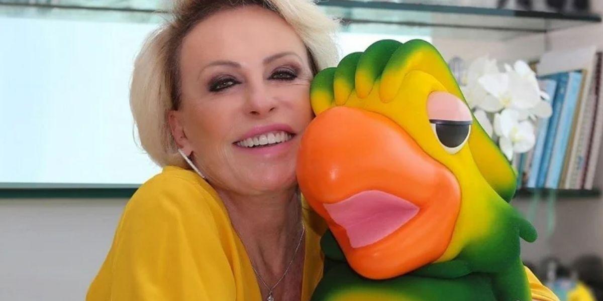 Ana Maria Braga e Louro José no Mais Você (Foto: Reprodução/Globo)