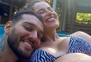 Esposa de Lucas Lucco se pronuncia pela primeira vez após nascimento do primeiro filho do casal - Foto: Reprodução