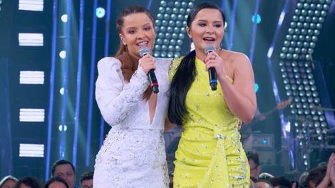 A dupla sertaneja Maiara e Maraisa (Foto: Reprodução/Globo)