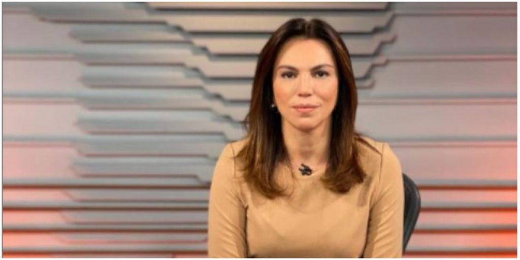 Ana Paula Araújo termina a semana devastada no Bom Dia Brasil (Foto: Reprodução)