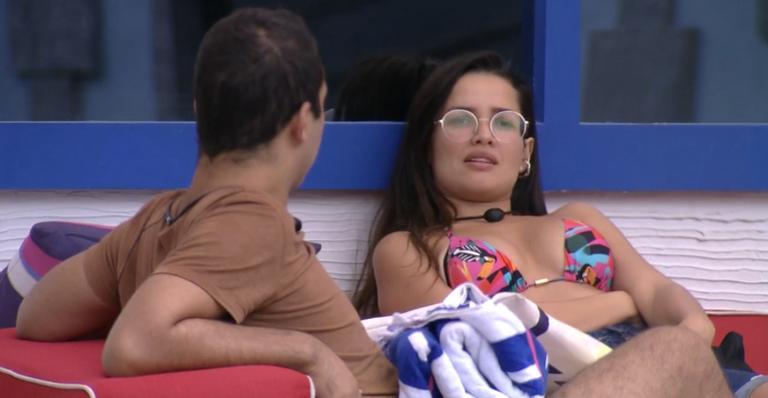 Gilberto e Juliette no BBB21 (Foto: Reprodução)
