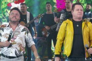 Bruno e Marrone são uma dupla de sucesso há anos (Foto: Reprodução/TV Globo)