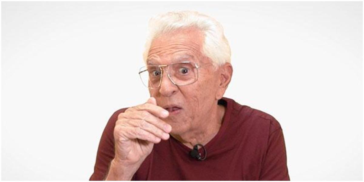 O humorista Carlos Alberto de Nóbrega - (Foto: Reprodução)
