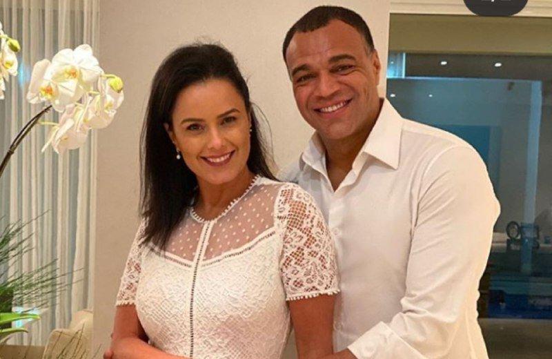 Luciele Di Camargo e Denilson