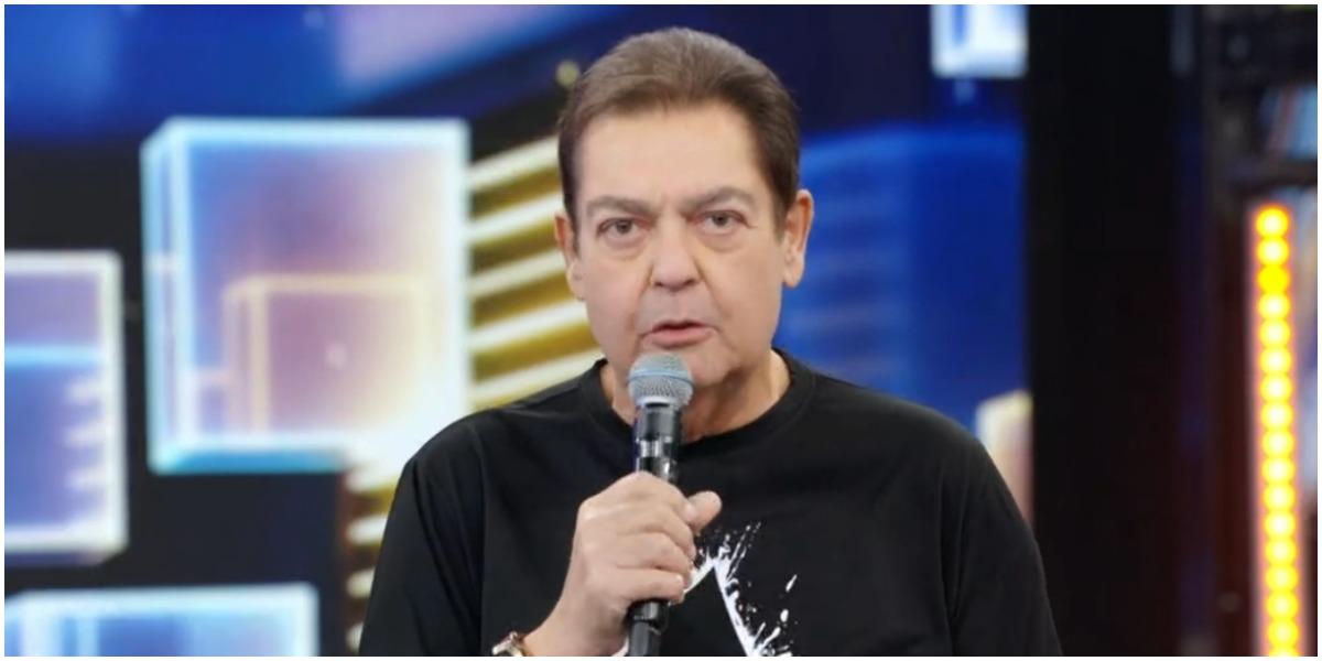 O apresentador da Globo, Faustão - Foto: Reprodução