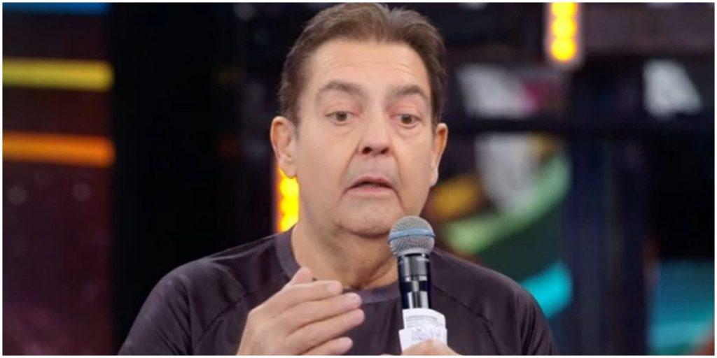 Faustão durante o Domingão, da Globo - Foto: Reprodução