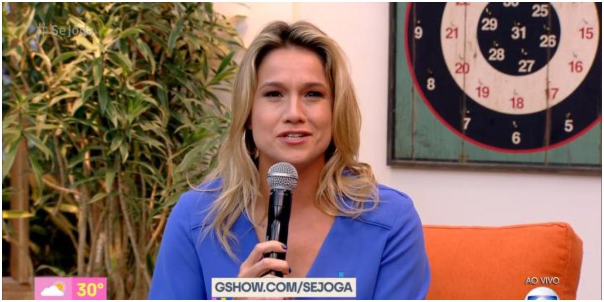 A apresentadora Fernanda Gentil, que comanda o Se Joga, da Globo - Foto: Reprodução