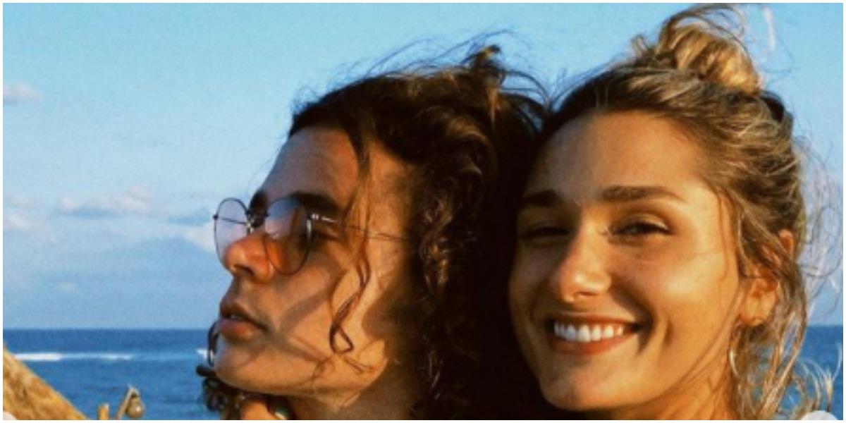 João Figueiredo mostrou momento de brincadeira com Sasha Meneghel (Foto: Reprodução)