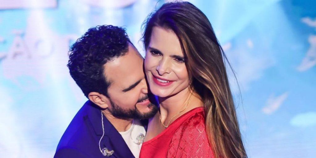 Luciano Camargo e Flávia Fonseca são casados e possuem duas filhas juntos (Foto: Reprodução/Instagram)