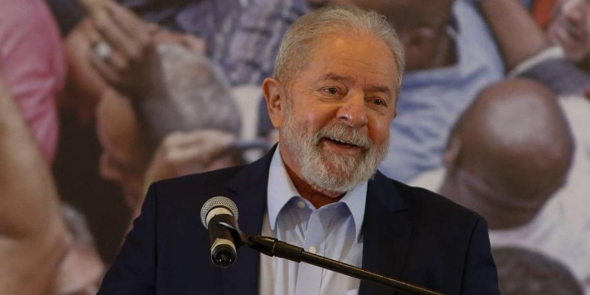 Lula anuncia candidatura as eleições de 2022 (Foto: Reprodução)
