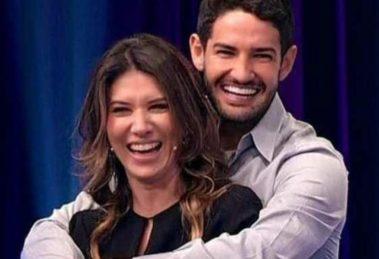 Pato e Rebeca Abravanel são casados desde 2019 (Foto: Reprodução/SBT)